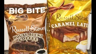 Russell Stover: House Blend Coffee & Caramel Latte Taste Test & Review