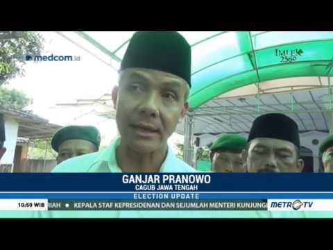 Ganjar Pranowo Taj Yasin Berkeliling Ke Sejumlah Ponpes