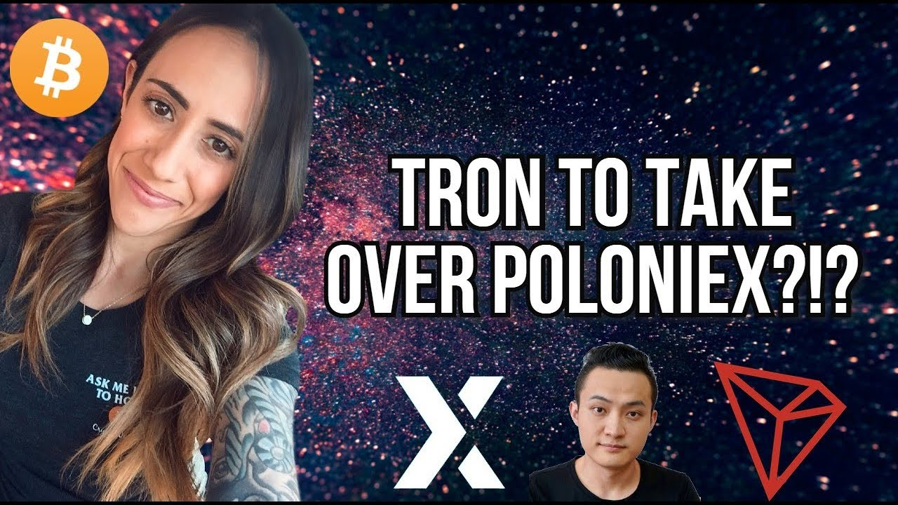 TRON TO ACQUIRE  POLONIEX - BITCOIN SHORT - SCROLL EXIT- BINANCE OFFERS 125X MARGIN