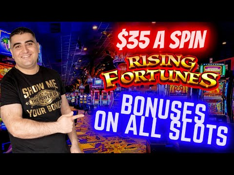 Bonuses On Every Slot Machines Up To $35 A Spins ! Which Will Pay Me More ? Live Slot Play At Casino