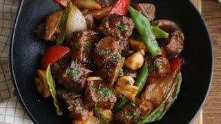 [ENG CC] 치이익- 소리도 맛있는 찹스테이크 : Chop Steak [아내의 식탁]