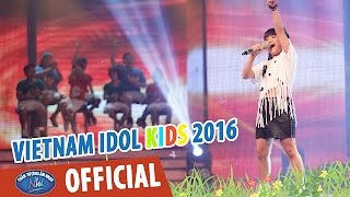 vietnam idol kids - than tuong am nhac nhi 2016 - ban ket 1 - girl on fire - bao tran