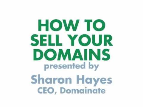 How to Sell Your Domains
