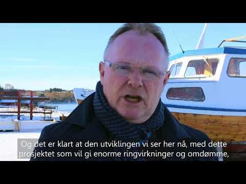 Fiskeriminister Per Sandberg besøker Aukra Maritime