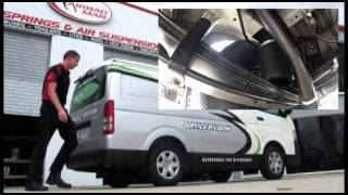 Toyota HiAce LWB 2012 with Airbag Man Air Suspension