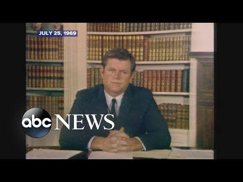 July 25, 1969: Ted Kennedy addresses Chappaquiddick accident