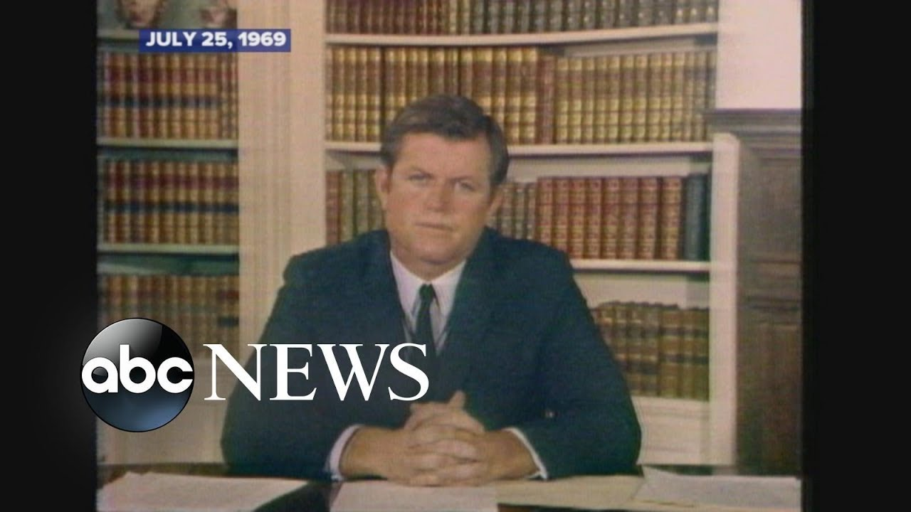 Image result for ted kennedy 1969 tv address images