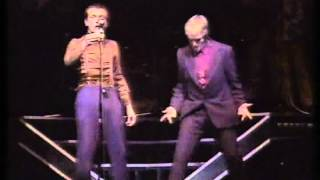 Rik and Ade performing as 20th Century Coyote for a benefit show ca...
