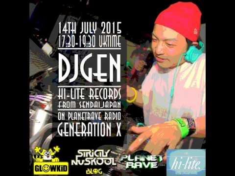 GL0WKiD Generation X [RadioShow] wt. DJGEN (JP) on the Guest Mix (14th July 2015)