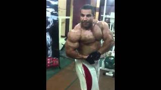 Abbas Agheli-Asian and world champion.