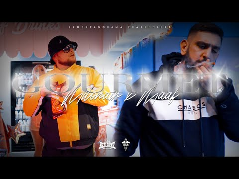 MILONAIR - GOURMET feat. MAAF (prod. von Panorama) [Official Video]