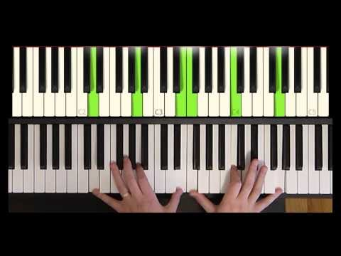 How to play a Gospel/R&B Minor 11 Chord - The Piano Shed