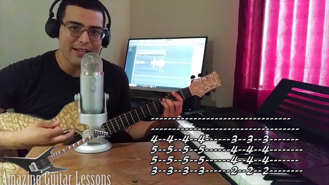Sex and candy guitar tab
