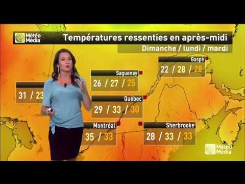 Une Vague De Chaleur Arrive Sur Le Québec! (météo Par Sandra Sirois)