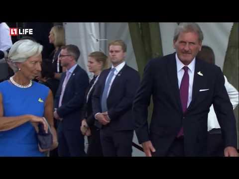 Лидеры G20 прибывают в Филармонию на Эльбе на концерт