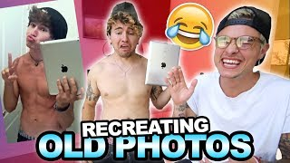 RECREATING OUR OLD PHOTOS