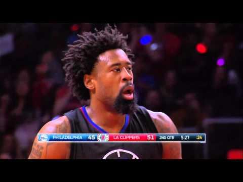 Philadelphia 76ers vs Los Angeles Clippers - January 2, 2016