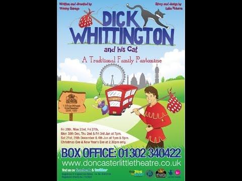 Dick Whittington & His Cat Promo Dec-Jan 2013 @ The Doncaster Little Theatre
