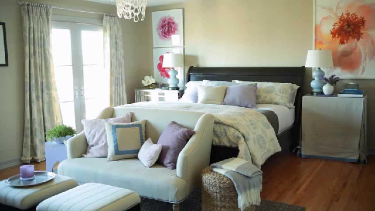 Designer secrets bedroom decor youtube for Womens bedroom wallpaper