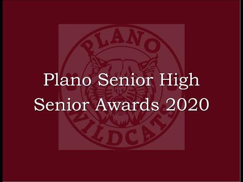 Plano Senior High School Senior Awards 2020