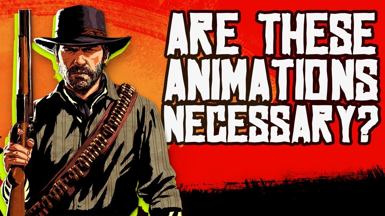 Is Red Dead Redemption 2's Animation Too Slow?