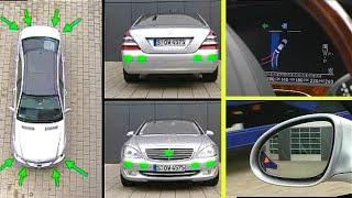 Mercedes-Benz S-Klasse | Funktionsweise automatischer Parkassistent und Totwinkelassistent (W221)