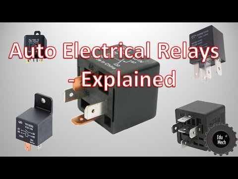 Auto Electrical Relays Explained - How they work and where they're used.