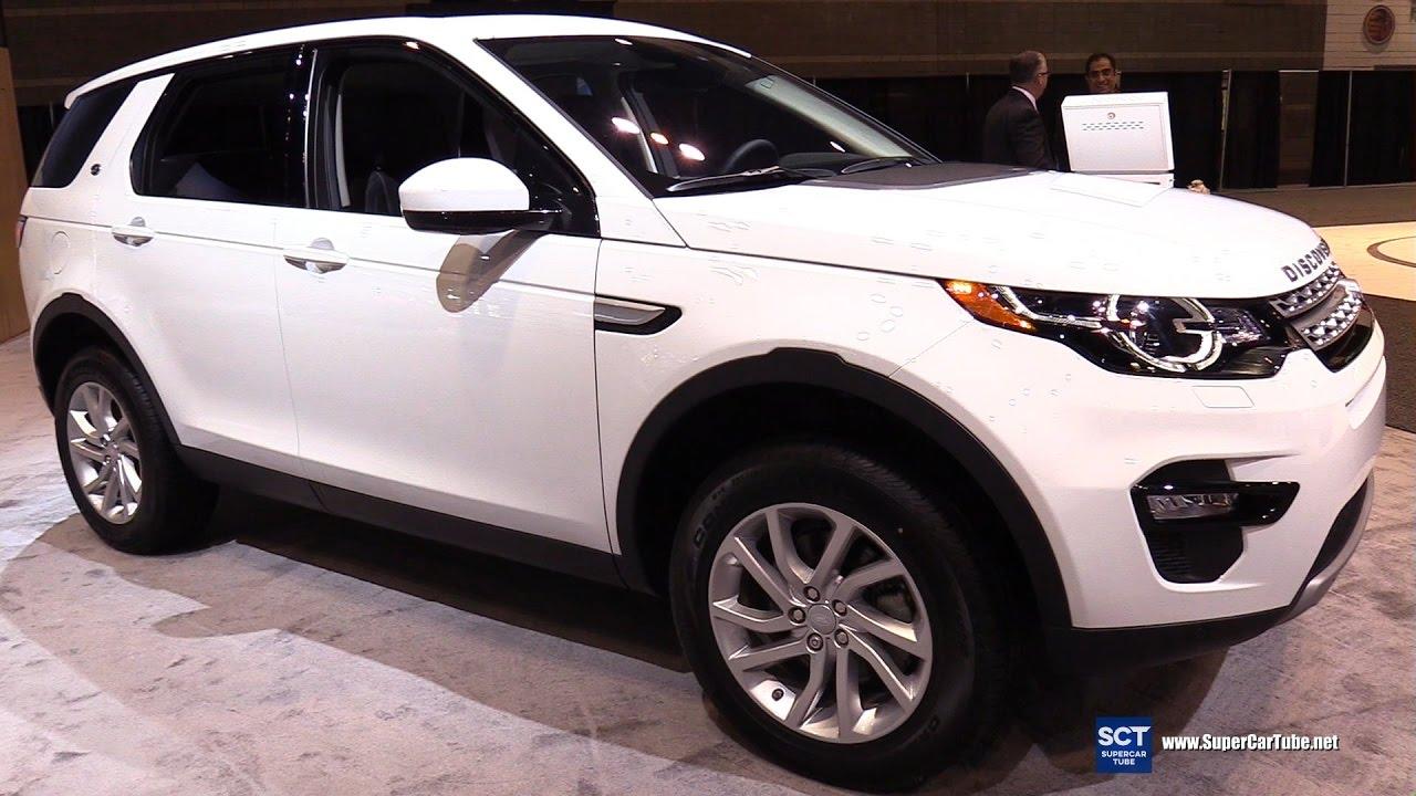 2017 Land Rover Discovery Sport Hse Exterior Interior Walkaround 2017 Chicago Auto Show