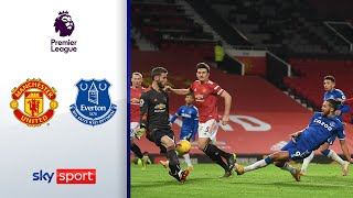 90.+5! Verrücktes Spiel | Manchester United - FC Everton 3:3 | Highlights - Premier League