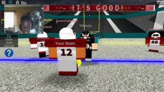 Roblox - Legendary Football When can i be QB!?!??!?!