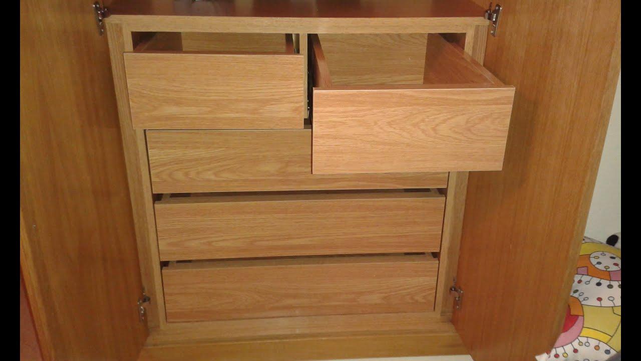 Hacer un mueble de tablero de melamina sin tornillos
