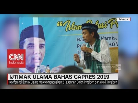 Capres-Cawapres Usulan Ijtimak Ulama : Prabowo - Ustadz Abdul Somad, Prabowo - Salim Segaf Al Jufri