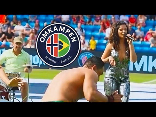 Bruna Santana: Omkampen Norge-Brasil