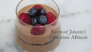 Chocolate Mousse by Chef Deden Nugraha