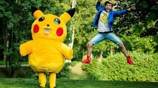Поймать Пикачу / Pokemon Go Prank cмотреть видео онлайн бесплатно в высоком качестве - HDVIDEO