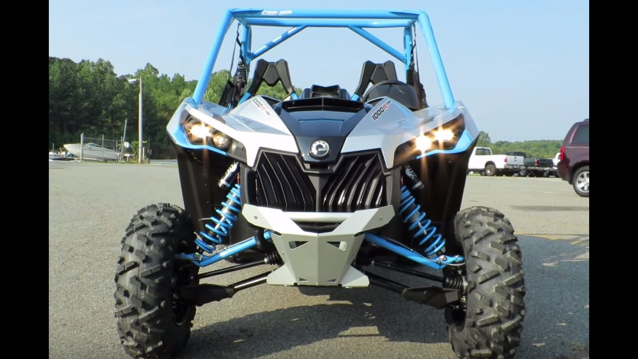 2016 Can Am Maverick Xds Turbo 1000r Hyper Silver Octane Blue Review