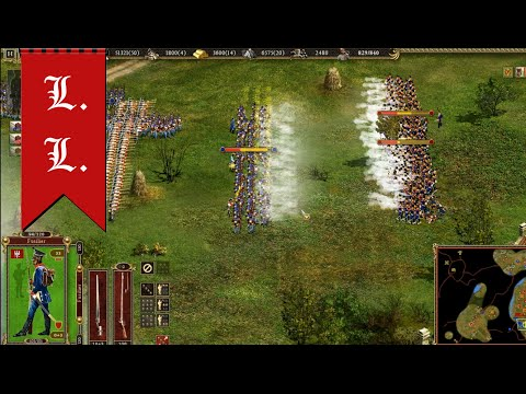 "Cossacks 2 Battle for Europe. The honor of the Polish crown (Poland) - ""Repel Austrians"" Part 2/5"