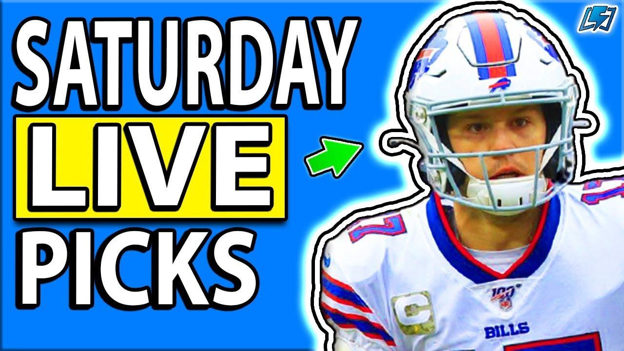 DRAFTKINGS NFL PICKS WEEK 15 SATURDAY LIVE DFS PICKS | 2020 Fantasy Football