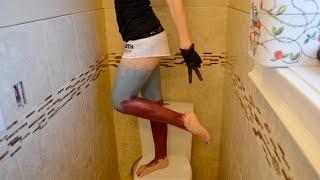 Dyeing My Leg Hair