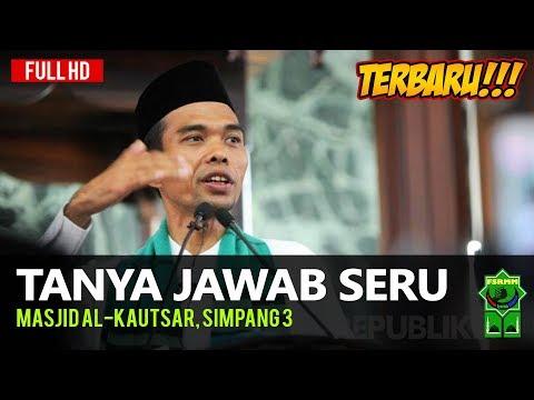 Tanya Jawab Seru Terbaru Ustadz Abdul Somad di Masjid Al-Kautsar Simpang 3
