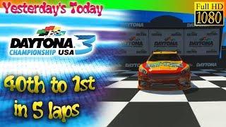 40th to 1st in 5 laps - Daytona Championship USA (2017) HD