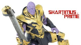 ZD Toys Armored Thanos Avengers Endgame 8 Inch Marvel Action Figure Review
