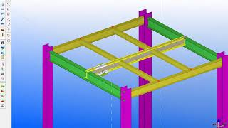 TEKLA STRUCTURE TRAINING URDU DAY 2 PART4