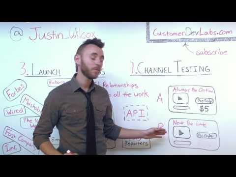 Customer Discovery: 3 Step Go To Marketing Strategy for Startups, with Justin Wilcox
