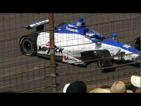 2012 Indianapolis 500, Takuma Sato last lap crash.