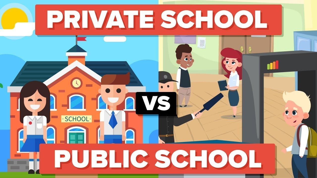 Image result for public school vs. private school