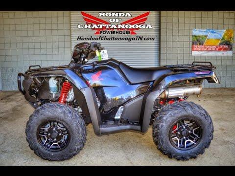 2015 Foreman Rubicon Deluxe Start Up Video - Honda of Chattanooga TN ATV Dealer