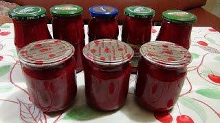 Желе из йошты и красной смородины. Jošt Jelly And Red Currant.