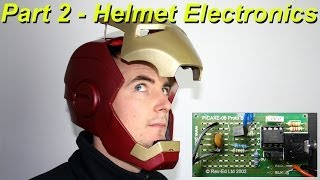 XRobots - Iron Man Cosplay Electronic Motorized Helmet Faceplate VERSION 2, PART 2