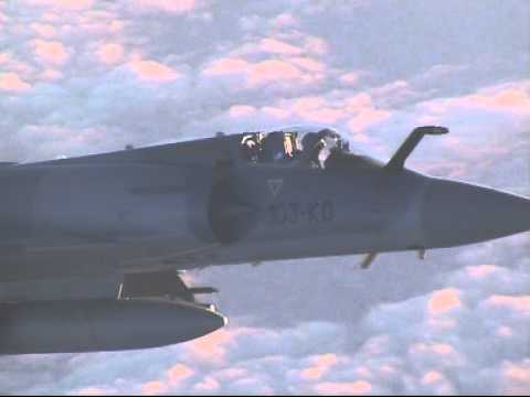Flight VY8366 intercepted by Mirage 2000